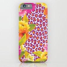 Floral Leopard  iPhone 6 Slim Case