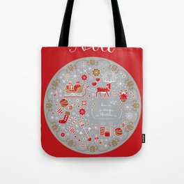 noel with love Tote Bag