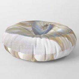 Nautilus Shell Floor Pillow