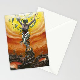 """Invictus"" by Adam France Stationery Cards"