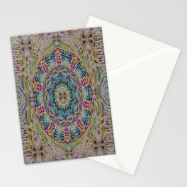 Rainbow lace and pearls to sparkle with you Stationery Cards