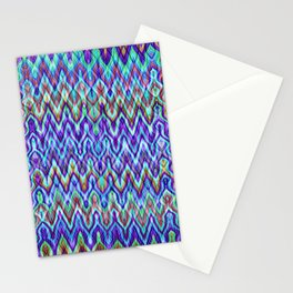 Missoni Style Blue Stationery Cards