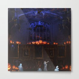 Halloween Kingdom Palace Metal Print