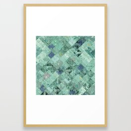 Abstract Geometric Background #31 Framed Art Print