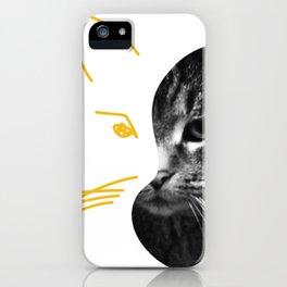 Gestalt Cat iPhone Case