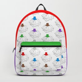 Mechanical Switches Backpack