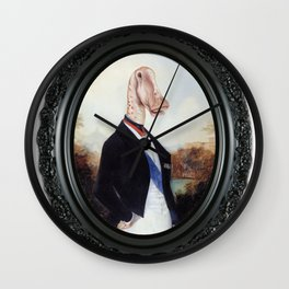 Framed Duke Diplodocus Wall Clock