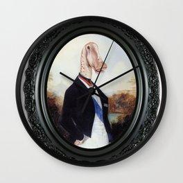 Framed Duke Diplodocus Wall Clock