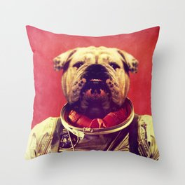 Mars Rover Throw Pillow