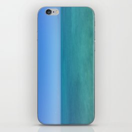Caribbean Blue iPhone Skin