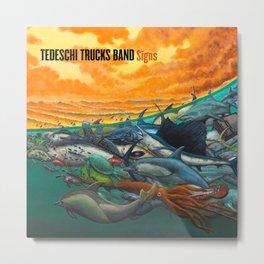 TEDESCHI TRUCKS BAND SIGNS TOUR DATES 2020 ASAMJAWA Metal Print