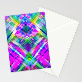 Colorful digital art splashing G469 Stationery Cards