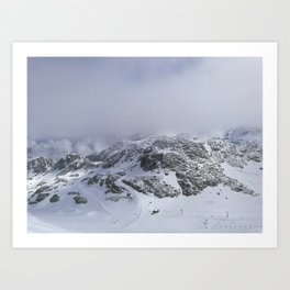 Mountains in June Art Print