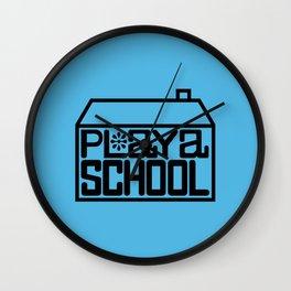 Playa School Wall Clock