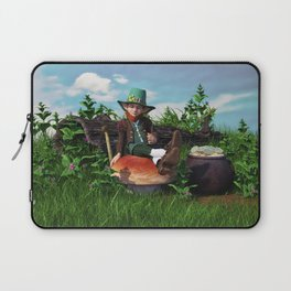 Leprechaun Gold Laptop Sleeve