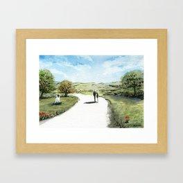 Path II Framed Art Print