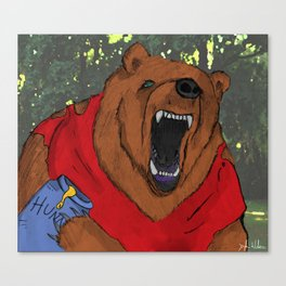 Oh, Bother..... Canvas Print