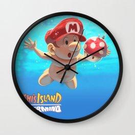 Yoshi Island - Nevermind Wall Clock