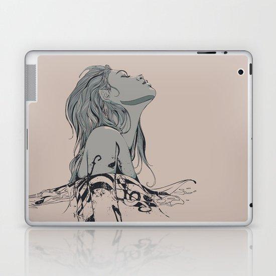 Floating in The Rhythm Laptop & iPad Skin