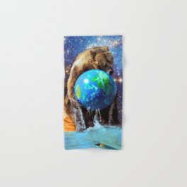 Give Planet Earth A Bear Hug! Hand & Bath Towel