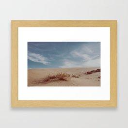 Sand hill Framed Art Print