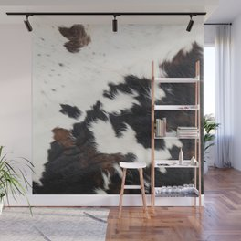 Brown Cowhide Wall Mural