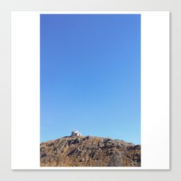 Solitude on the Top Canvas Print
