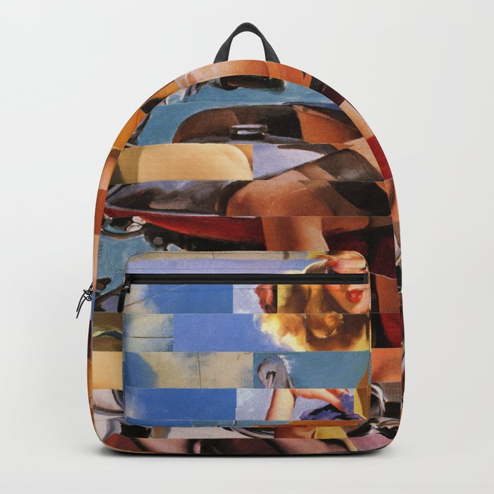 Glitch Pin-Up Redux: Zelda & Zoe Backpack