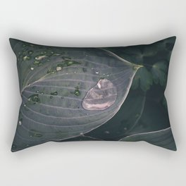Moody Rain Rectangular Pillow