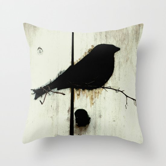 Early Bird - JUSTART © Throw Pillow