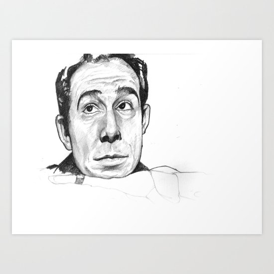 Ugo Tognazzi Tribute Art Print