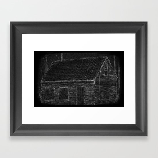 """The Mathers House"" by Matthew Vidalis Framed Art Print"