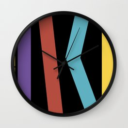 Test Strip Wall Clock