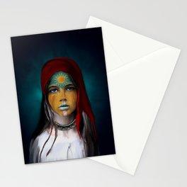 Chalchiuhtlicue Stationery Cards
