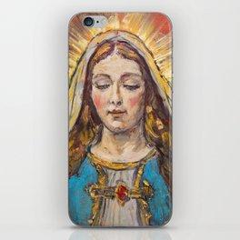 Beata Virgen Maria iPhone Skin