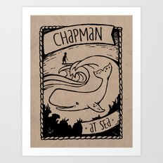 Chapman at Sea Art Print
