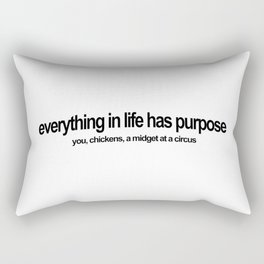 A Lil Dicky Philosophy Rectangular Pillow