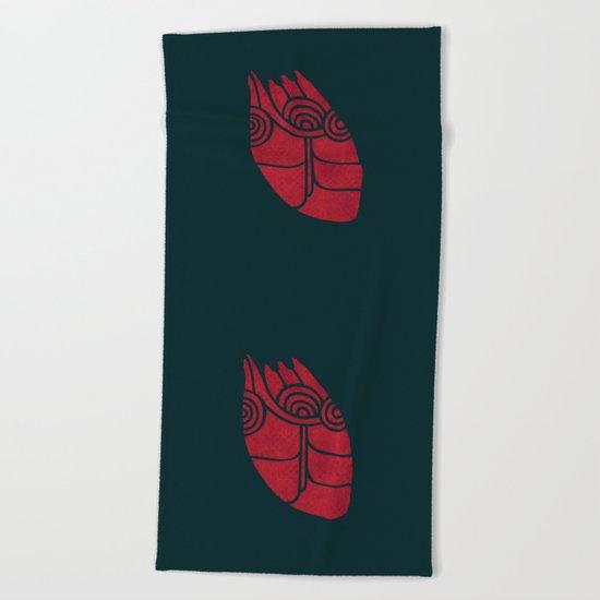 (heart) Beach Towel