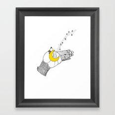 let go.. Framed Art Print