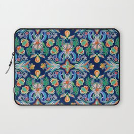 Boho Navy and Brights Laptop Sleeve
