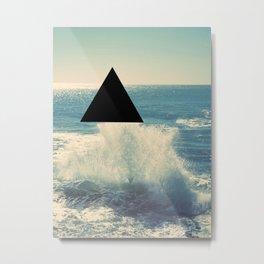Where The Ocean Meets The Sky Metal Print
