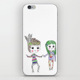forever iPhone Skin