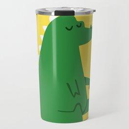 Dragon and Marshmallow Travel Mug