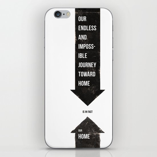 Endless Journey Home iPhone & iPod Skin