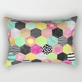 Color Hive Rectangular Pillow