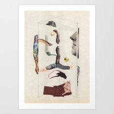 fashion destroyer Art Print