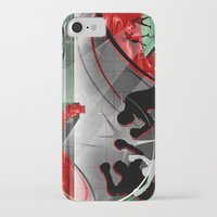 boxing iPhone & iPod Cases featuring Boxing by Robin Curtiss