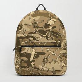 Grim Ripper Skater Camo DESERT Backpack
