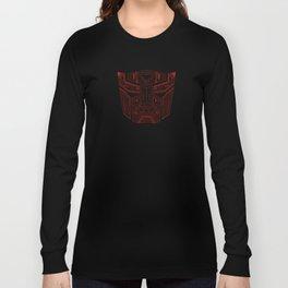 Autobot Tech Red Long Sleeve T-shirt
