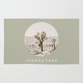 JOSHUA TREE / california / summer desert Rug